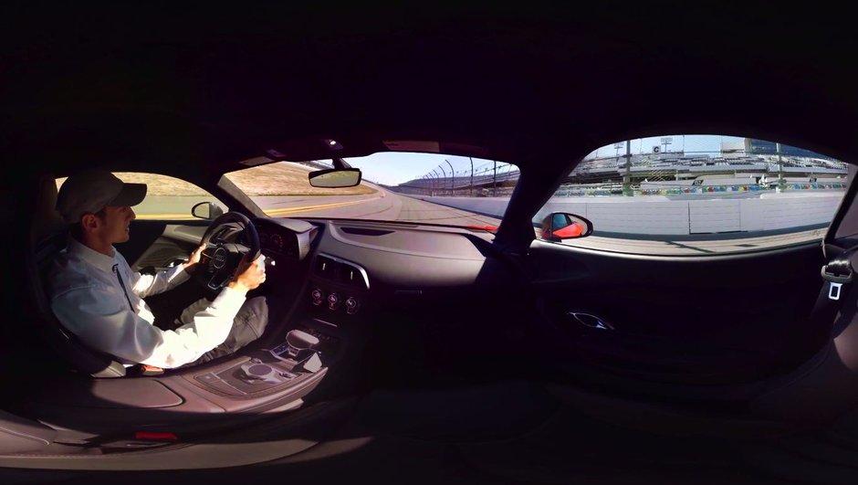 Insolite : Une Audi R8 V10 Plus propose une vidéo 360 degrés !