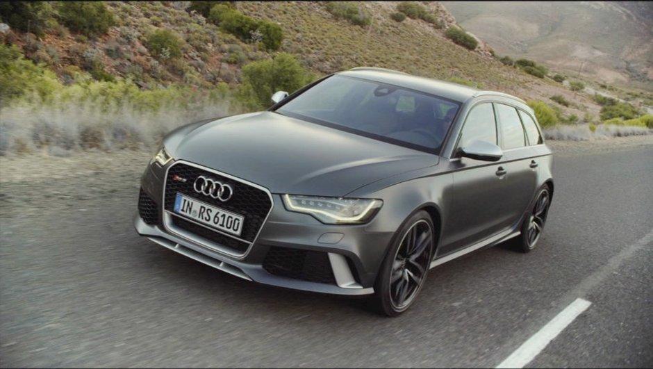 Vidéo : la nouvelle Audi RS 6 Avant revient en rugissant