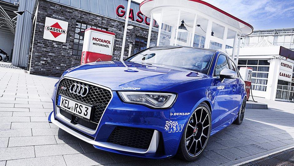 Tuning : Une Audi RS3 Oettinger plus puissante qu'une Porsche GT3 RS