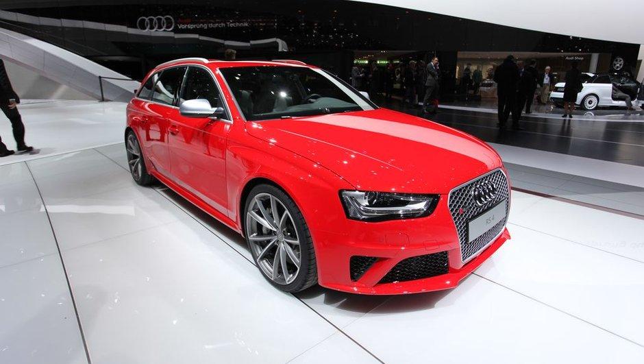 Salon de Genève 2012 : nouvelle Audi RS4 Avant, break de chasse à course