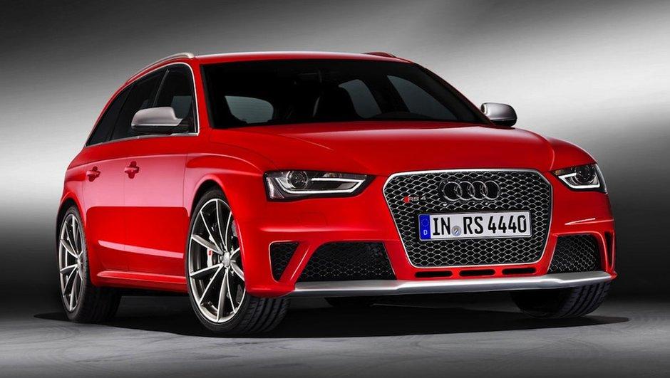 Salon de Genève : Audi RS4 Avant en photos officielles