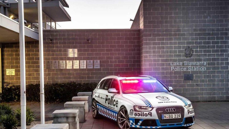 Insolite : une Audi RS4 pour la police australienne