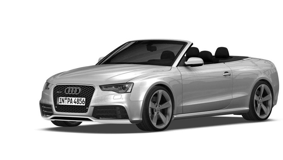 Exclu : Voici l'Audi RS5 Cabriolet restylée !