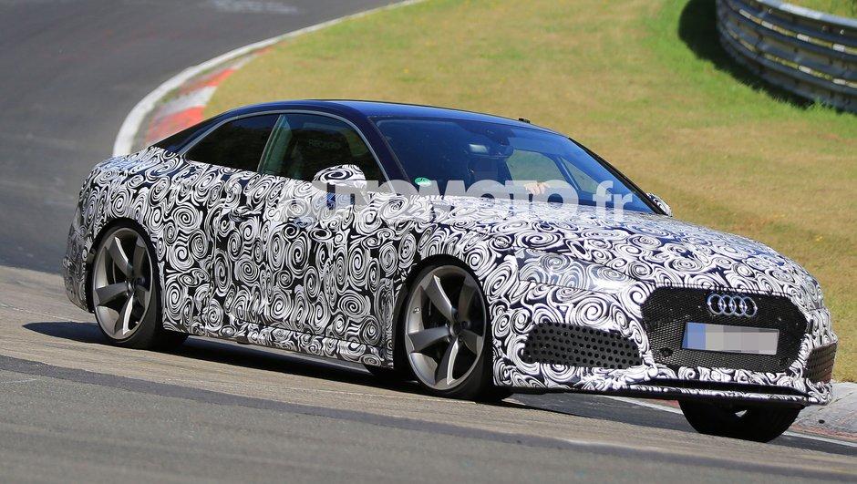 Scoop : La future Audi RS5 Coupé 2017 sur le Nürburgring
