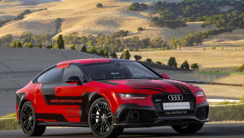 L'Audi RS7 autonome plus rapide qu'un pilote sur circuit ?
