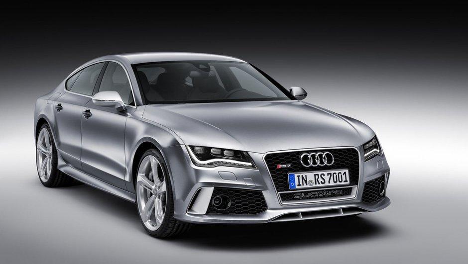 Salon de Détroit 2013 : Audi RS7 Sportback rejoint la cour des 560 ch