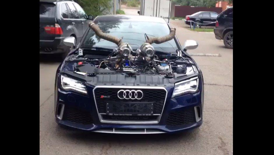 Insolite : la surpuissante Audi RS7 de l'enfer ?