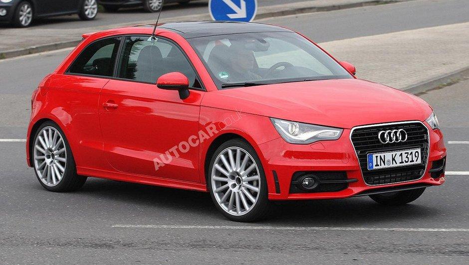Audi S1 : la version sportive de l'A1 sans camouflage