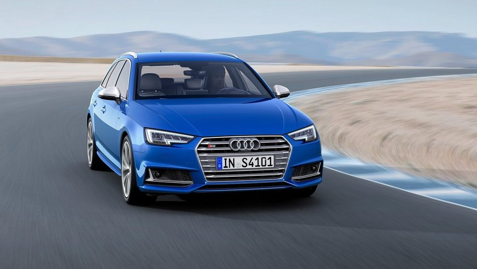 Le break Audi S4 Avant sera au Salon de Genève 2016