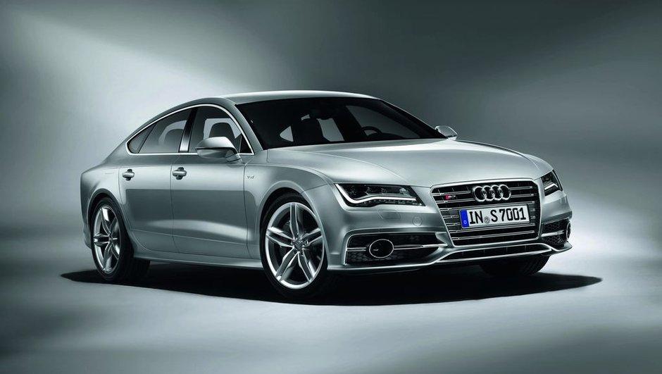 Salon de Francfort 2011 : nouvelles Audi S6, S7 et S8 mises au V8