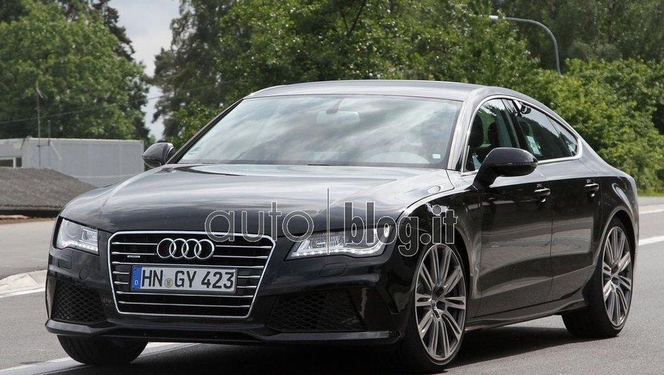 Audi S7 : photos espions de la grande berline sportive