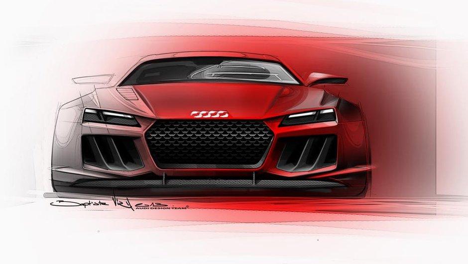 Audi Sport Quattro Concept 2013 : le coupé revient à Francfort