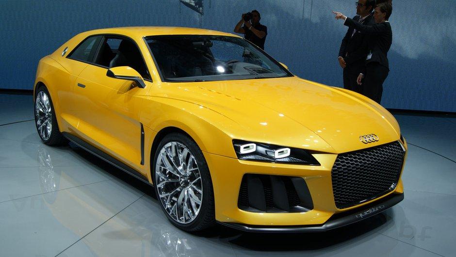 Salon de Francfort 2013 : Audi Sport Quattro Concept, puissance toute !