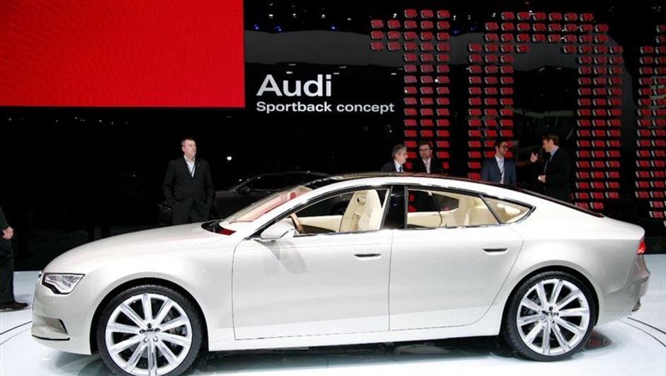 Salon de détroit : Audi Sportback Concept
