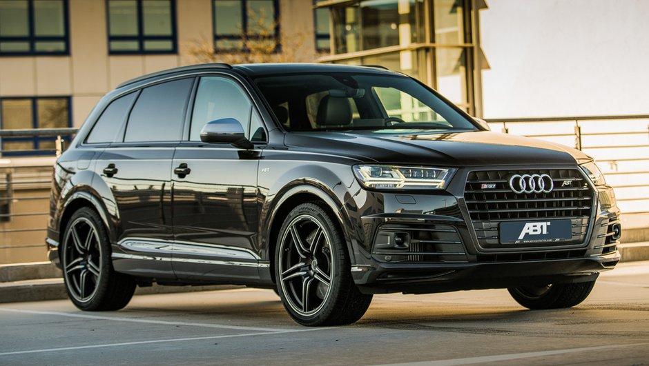Tuning : l'Audi SQ7 monte à 520 ch grâce à ABT