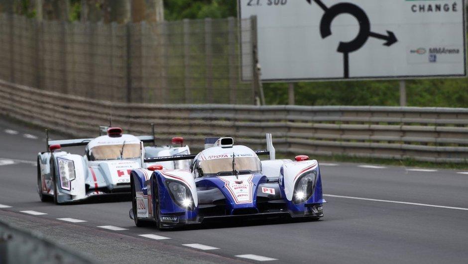 24 Heures du Mans 2012 - départ : les Audi démarrent fort