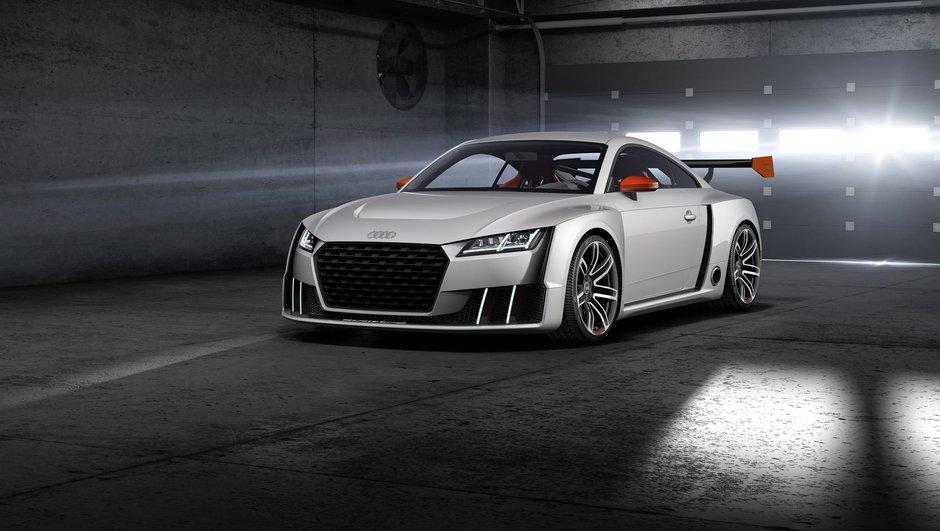 Audi TT Clubsport Quattro Turbo Concept 2015 : 600 chevaux très électrisants