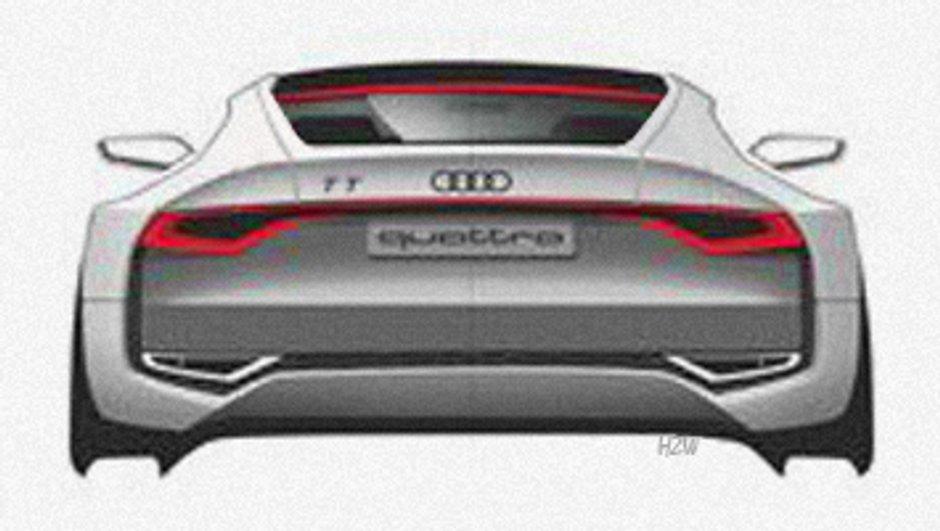 Audi TT Concept : pour le Salon de Tokyo 2011 ?