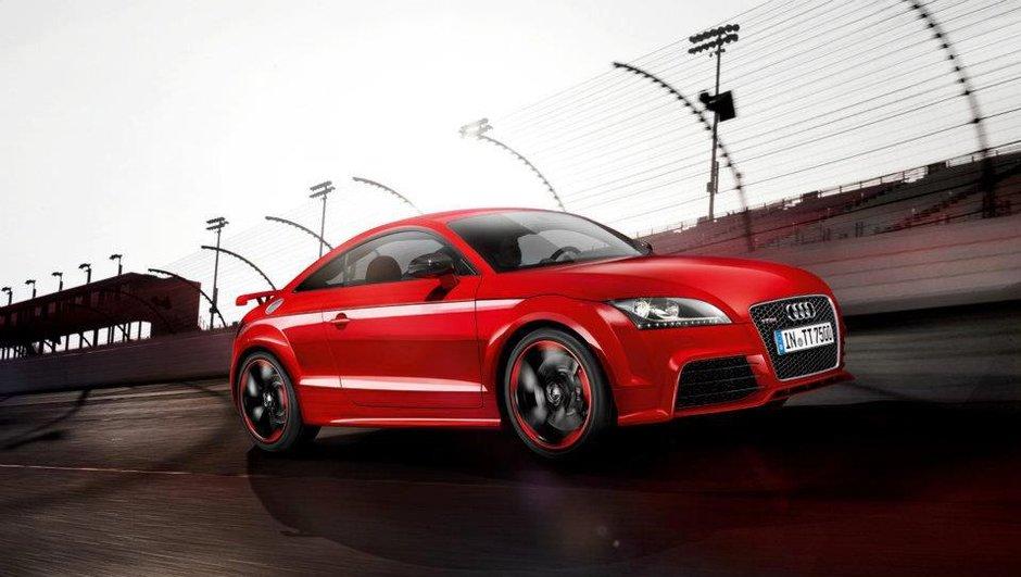 Salon de Genève 2012 : Audi TT-RS Plus ...  de chevaux !
