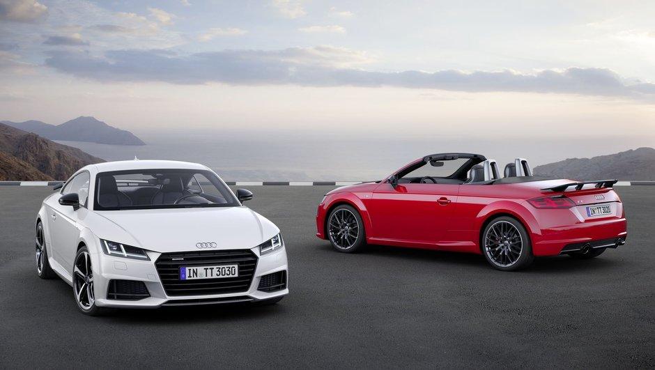 Mondial de l'Auto 2016 : l'Audi TT S line competition en tenue de sport
