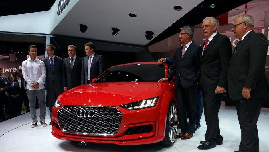 Mondial de l'Automobile 2014 : Audi TT Sportback Concept, la berline en mieux !