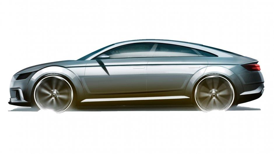 Audi TT Sportback Concept 2014 : une berline-coupé pour le Mondial