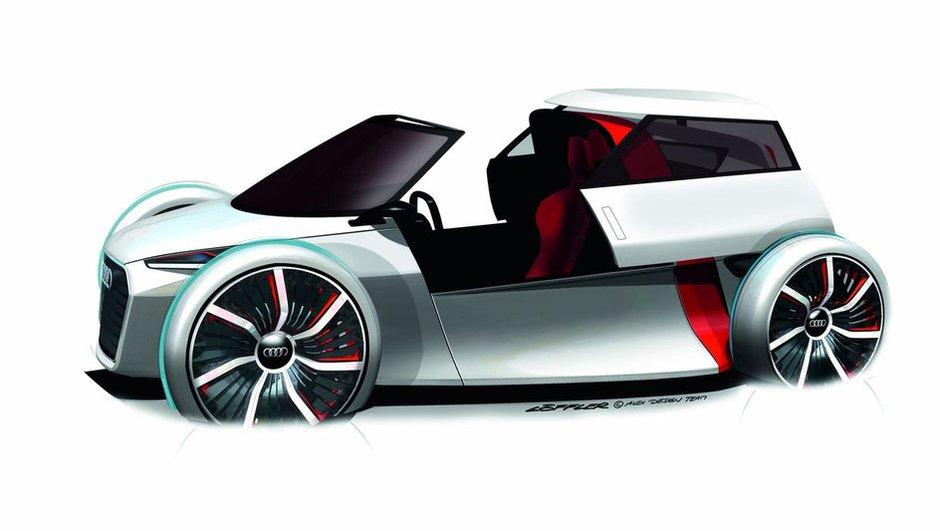Salon de Francfort 2011 : Audi Urban Concept, les images officielles !
