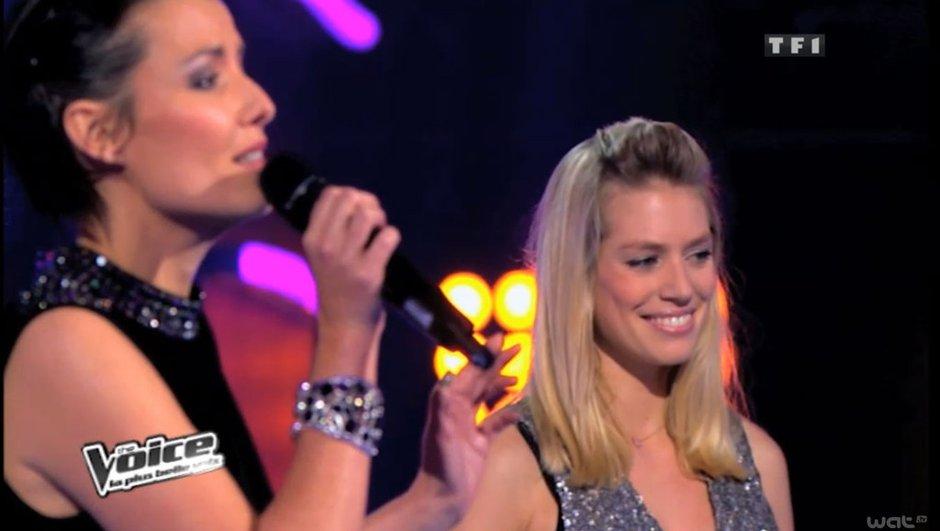 The Voice: Louis Bertignac ému par le duo Aurore Delplace/Kareen Antonn