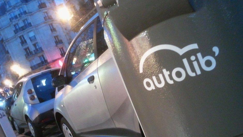 Autolib' : coup d'envoi du service d'autopartage à Paris !