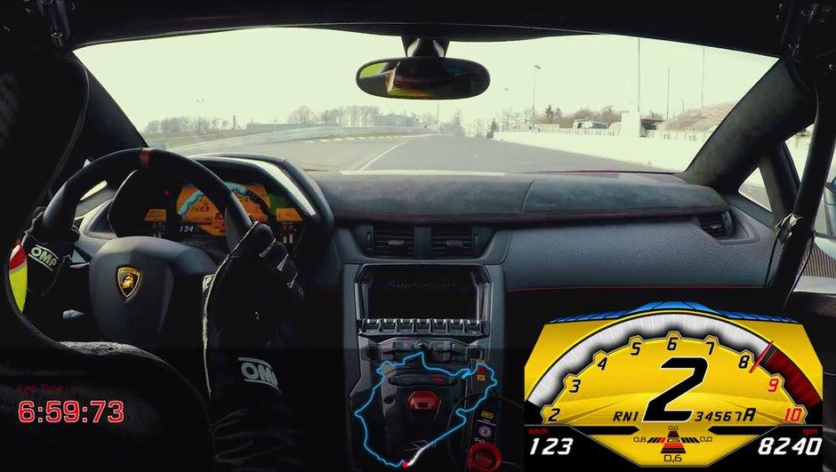 Vidéo : Lamborghini Aventador SV sous 7 minutes au Nürburgring