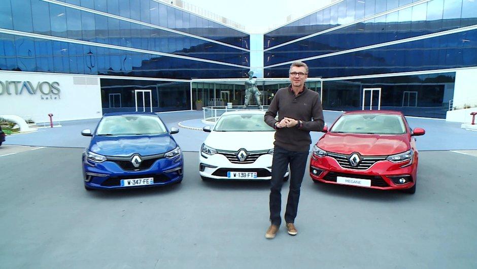 Sommaire : Mégane IV, la nouvelle star de Renault dans Automoto ce 6 décembre 2015