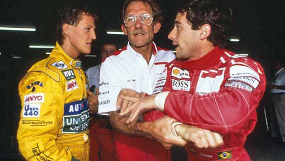 Coup d'oeil dans le rétro - F1 : Senna-Schumacher, l'impossible comparaison