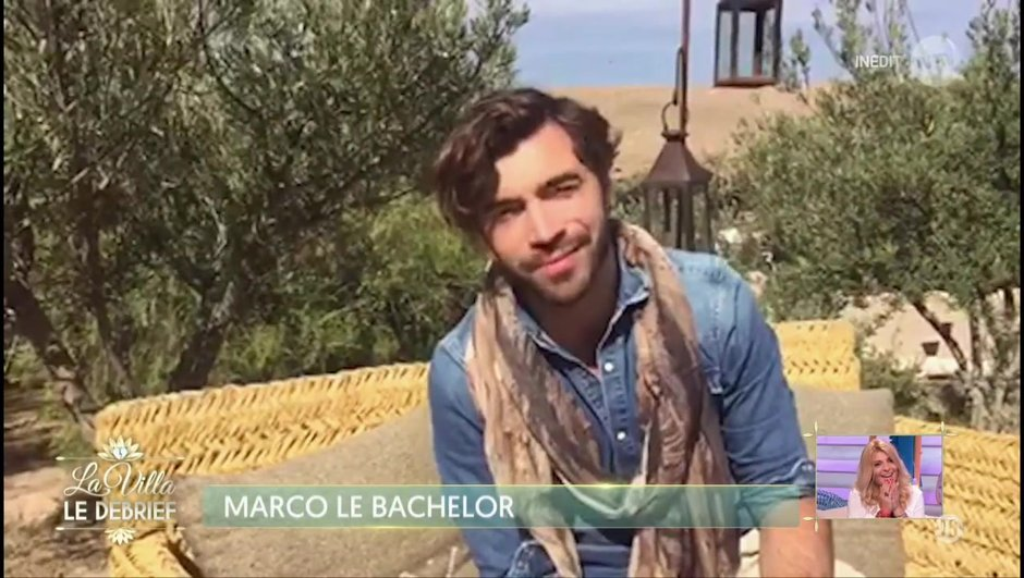 L'adorable message de Marco, le Bachelor à Mélanie !