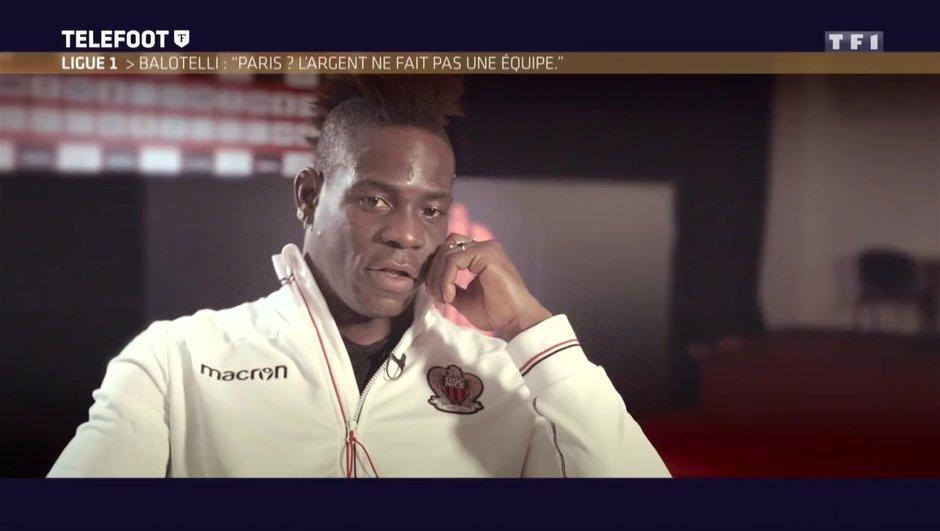 """[EXCLU Téléfoot 18/03] - OGC Nice / Balotelli : """"C'est l'une des meilleures saisons de ma carrière"""""""