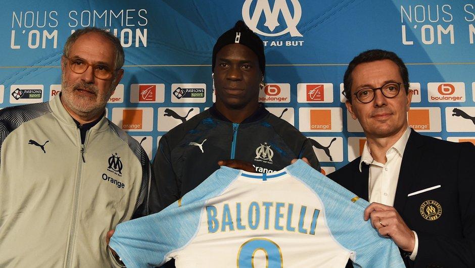 L'OM officialise l'arrivée de Mario Balotelli !