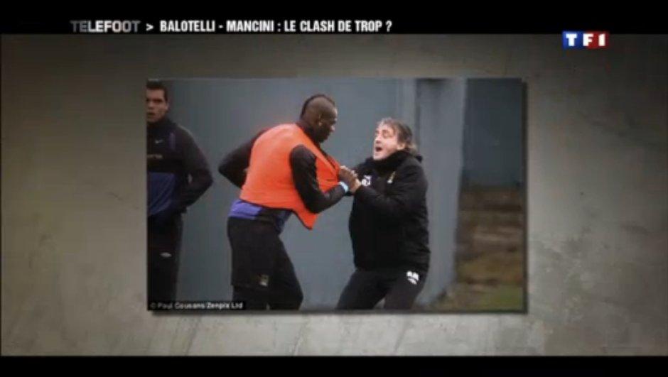 Manchester City : Violente altercation entre Balotelli et Mancini
