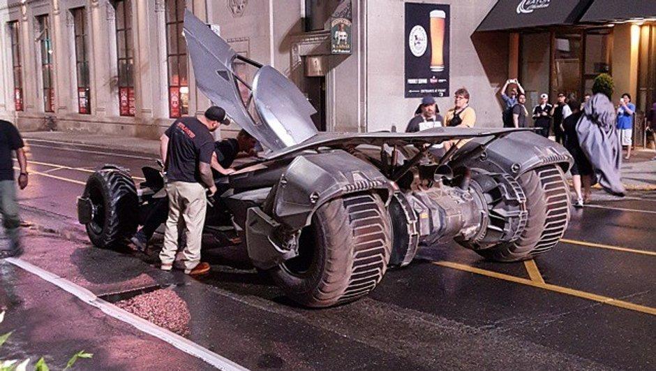 Les futures Batmobile et voiture du Joker surprises sur le tournage de Suicide Squad