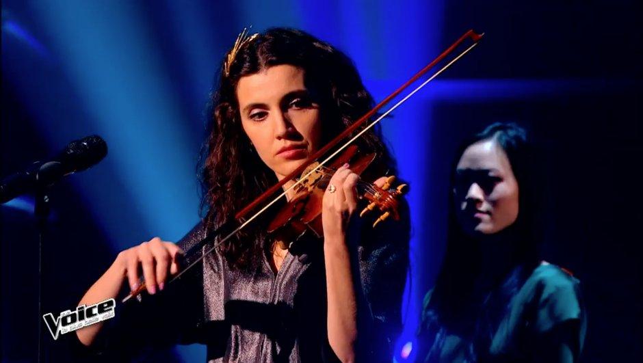 The Voice 4 - Deuxième Live : une chanson de Céline Dion pour Battista Acquaviva