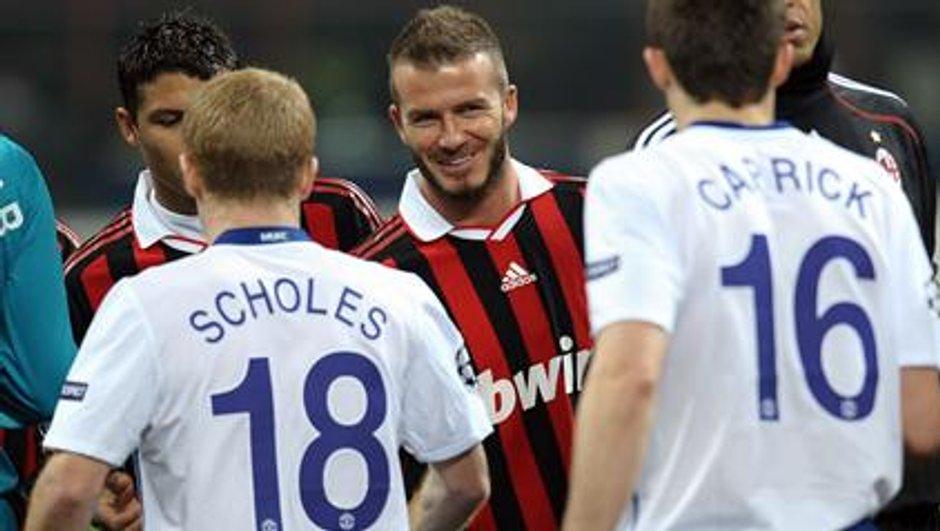 Beckham revient chez lui