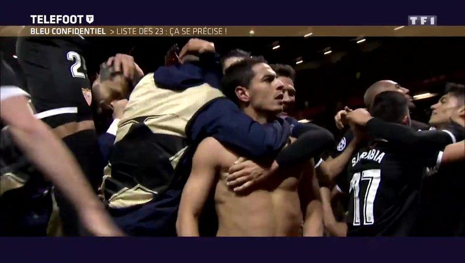 """[EXCLU Téléfoot 18/03] - Equipe de France / Deschamps évoque Ben Yedder : """"Manchester était juste un élément de confirmation"""""""