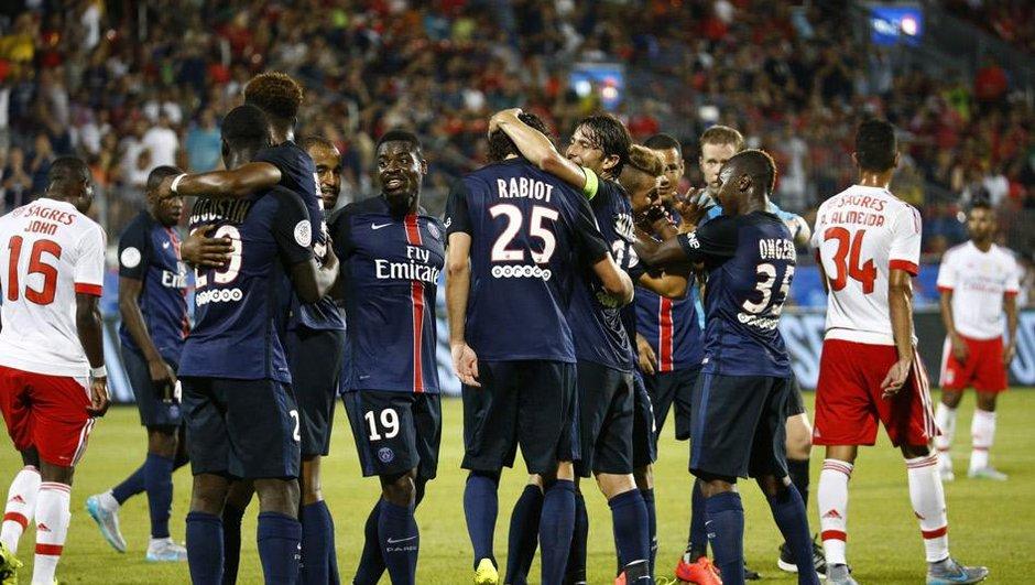 Match amical: Malmené, le PSG a fini par renverser Benfica