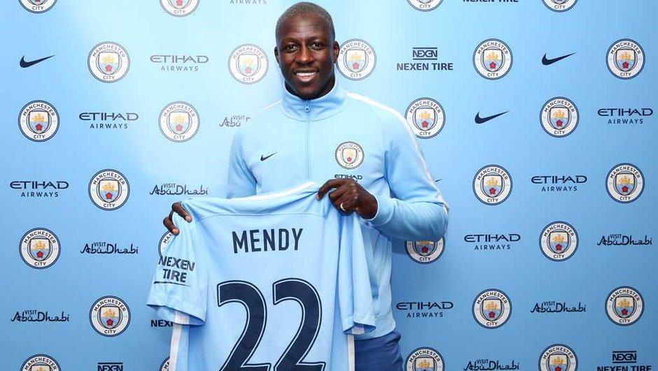 Manchester City : bonne ambiance autour de Benjamin Mendy