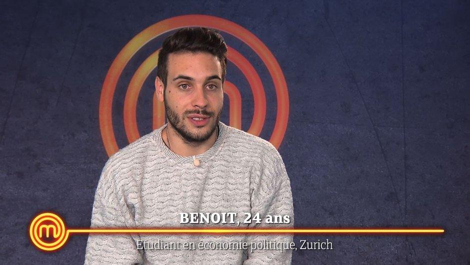 """Exclu : Qui est Benoît,  le premier """"coup de coeur"""" des chefs ?"""