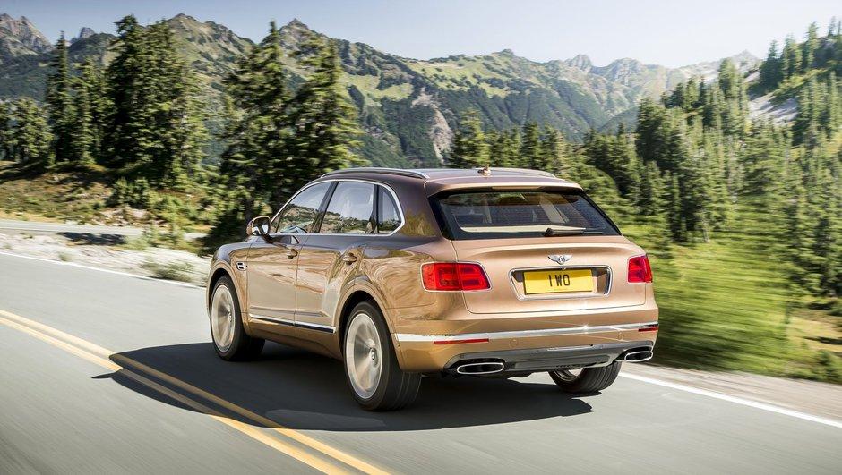 Avec le Bentayga, même Bentley passe au diesel !