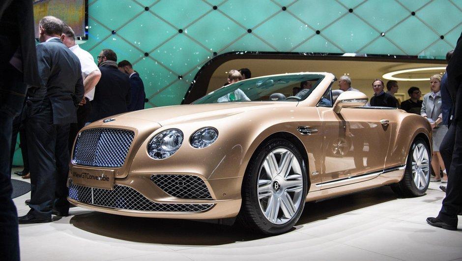 Salon de Genève 2015 : Bentley Continental GT, des retouches timides
