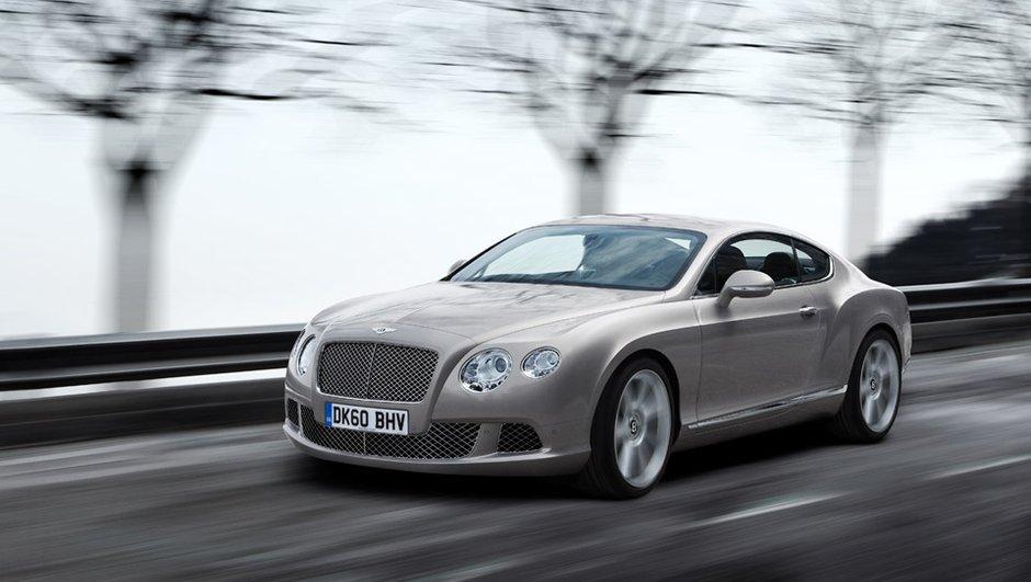 Mondial de l'Auto 2010 : Jour J pour la Bentley Continental GT
