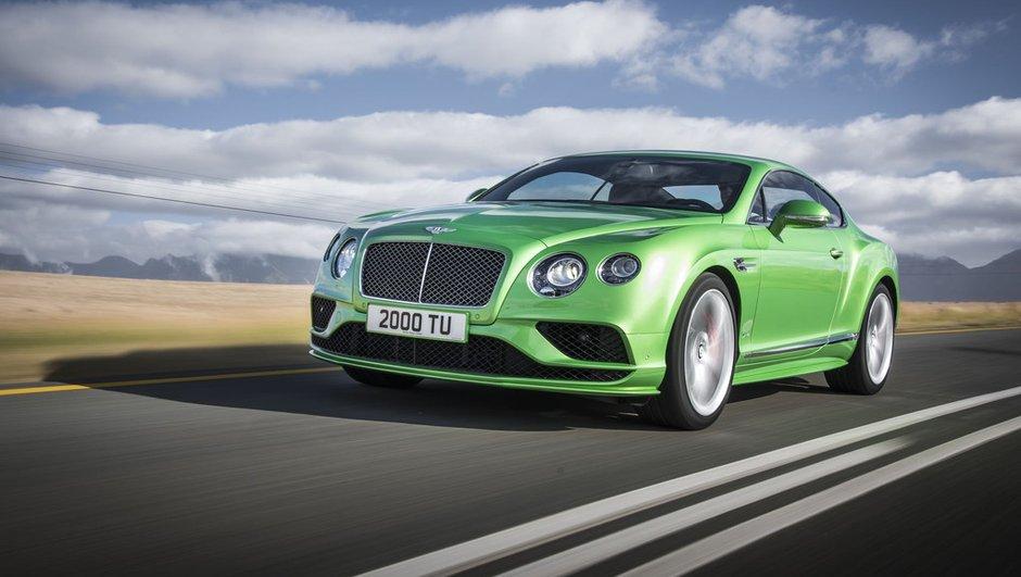 Bentley Continental GT 2015 : plus de gueule et un bloc W12 plus musclé