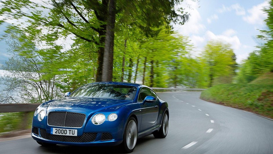 Bentley Continental GT Speed 2012 : Vitesse toute !