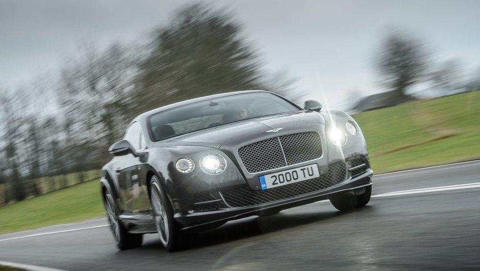 Bentley Continental GT Speed 2014 : la puissance grimpe à 635 chevaux