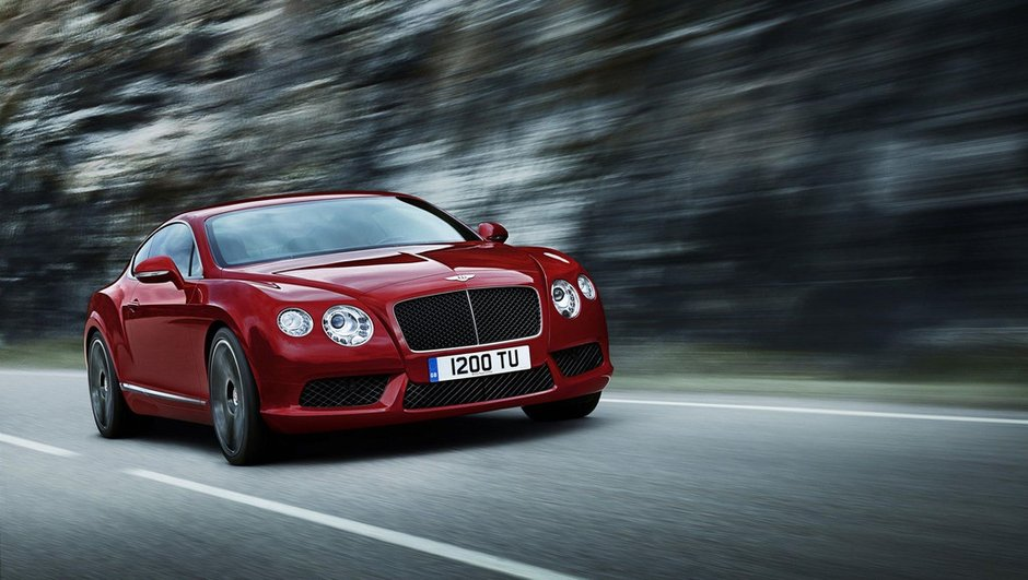 Salon de Détroit 2012 : la Bentley Continental GT passe au V8